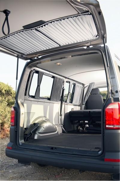 Vorhang-Set komplett für den VW T5 / T6 Multivan und Caravelle für alle 5 Fenster