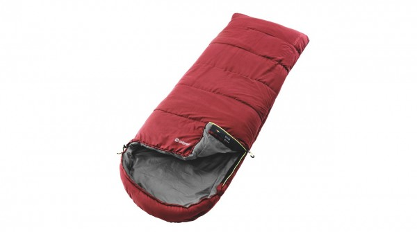 Schlafsack Outwell Campion Lux red