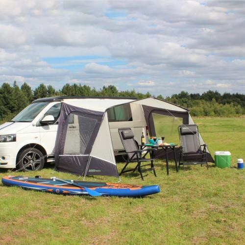 Sonnensegel / Vordach für Campingbus mit Seitenwänden