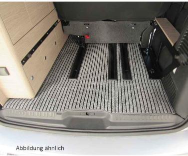 Teppich Kofferraum ohne Schienen Citroen Pössl Camster, Citroen Spacetourer, Peugeot Traveller, Toyo