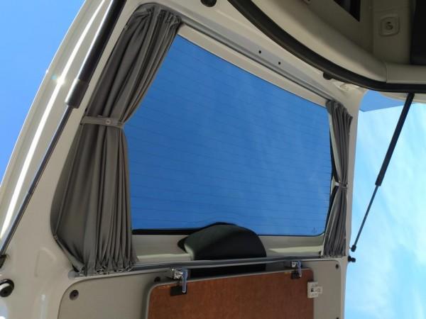 Vorhang-Set komplett für den VW Caddy Maxi ab 2012, für alle 5 Fenster