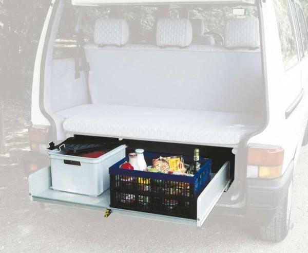 Cassetto scorrevole posteriore per VWT4 Multivan