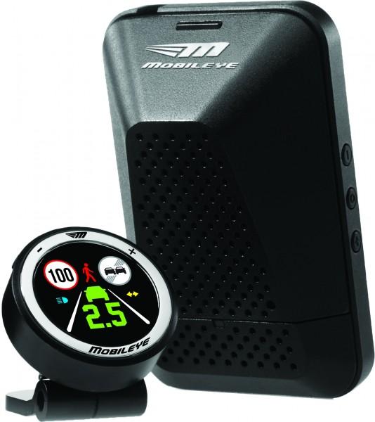 Sistema Anticollisione con telecamera e allarme acustico, riconsce pedoni, motociclisti, veicoli