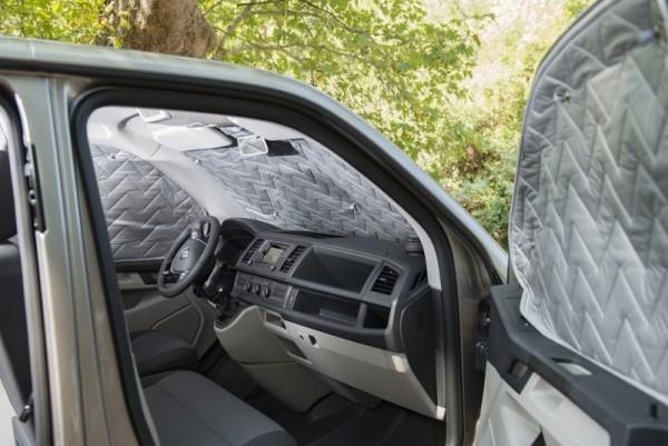 Thermomatten-Set für VW T5 / T6 /T6.1 mit Heckflügeltüren rundum 9-tlg. für kurz u. langem Radstand