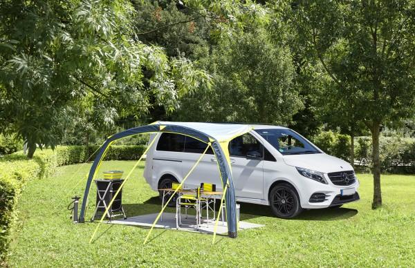 Sonnenvordach aufblasbar für Minibusse und Vans