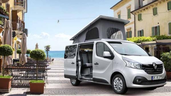 Tetto a soffietto / alzabile per Renault Trafic,Opel Vivaro,Nissan NV300 e Fiat Talento Reimo Easy Fit