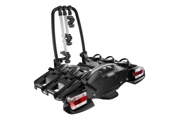 Fahrradträger für Anhängerkupplung für 3 Fahrräder, erweiterbar für 4 Fahrräder, Thule VeloCompact 9