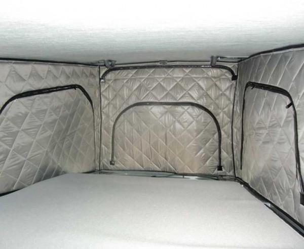 Telo isolante interno per tetti rialzabili VW T5 / T6 California e California Beach