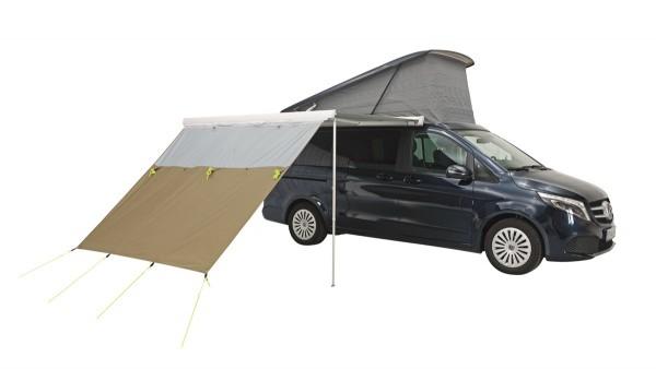 Parete frontale, telo parasole, parapioggia per tendalino VW T5 / T6 e tendalini Thule Omnistore, Fiamma, Dometic