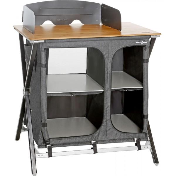 Küchenbox Brunner Merkury Cross Cooker mit Bambus Arbeitsfläche