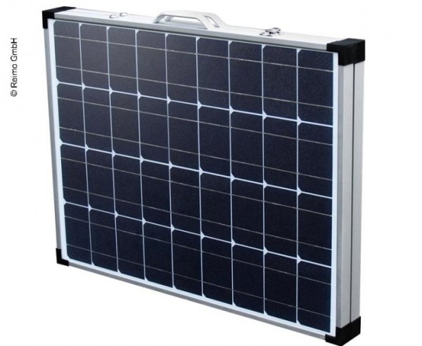 Modulo solare pieghevole 100 W incluso regolatore solare e uscita USB