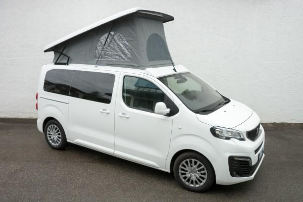 Peugeot Traveller OutdoorVan mit Aufstelldach
