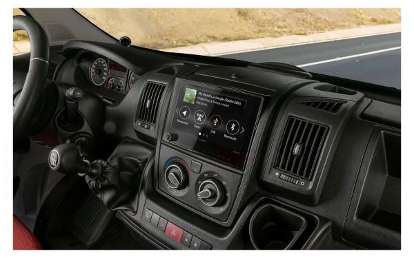 XZENT X-F270 Monicevitore Navicevitore (optionale) e Infotainer per Fiat Ducato, Citroen Jumper e Peugeot Boxer
