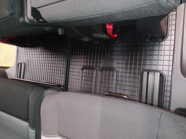 Tappeti gomma di alta qualità per Citroen Spacetourer, Peugeot Traveller, Toyota Proace, per la 3.fila