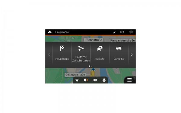 Navigation Software für Reisemobile XZENT X-MAP27-MH1