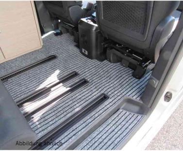Wohnraum Teppich ohne Schienen Citroen Pössl Camster, Citroen Spacetourer, Peugeot Traveller, Toyota
