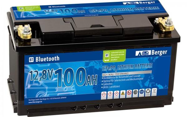 Lithium-Eisenphosphat Batterie LiFeP04 100Ah Bluetooth-App