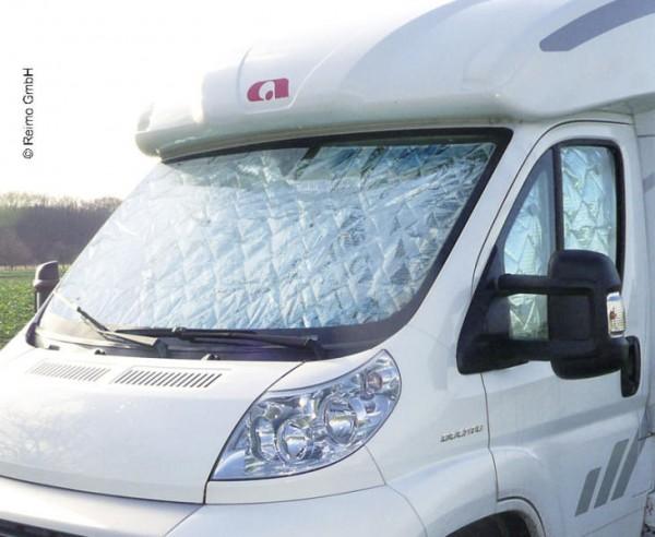 Thermoschutz Innen Fahrerhausscheiben mit Seitenfenster Fiat Ducato,Jumper und Boxer