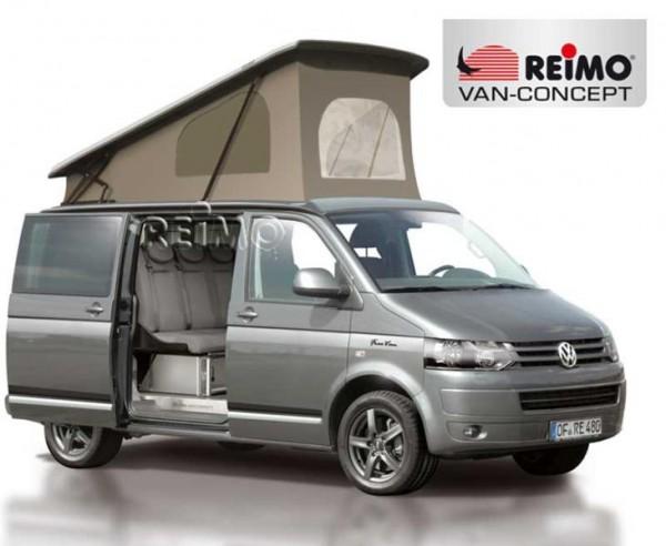 Tetto a soffietto / alzabile per VW T5 e T6 con passo corto Reimo Easy Fit con cielo clima