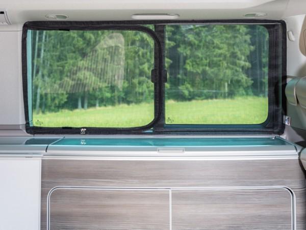 Moskitonetz Flyout für Schiebefenster VW T5 / T6 California oder Multivan