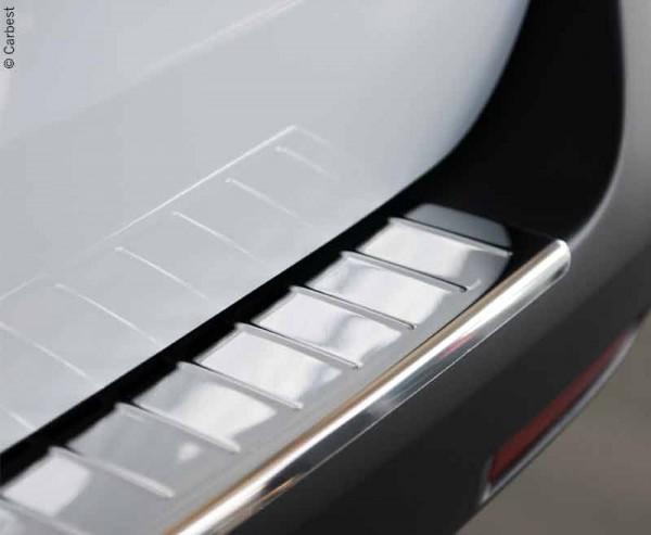 Ladekantenschutz für Citroen Spacetourer, Peugeot Traveller und Toyota Proace Edelstahl gebürstet