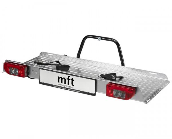 Transportplattform BackPack mft für Anhängerkupplung abklappbar, Kupplungs-Lastenträger