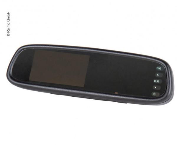 Specchietto retrovisore con monitor integrato, retrocamera nel fanalino stop del Volkswagen VW Caddy e VW Caddy Maxi