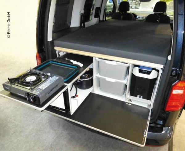 Küche und Camping-Box für VW Caddy, Citroen Berlingo und Peugeot Tepee