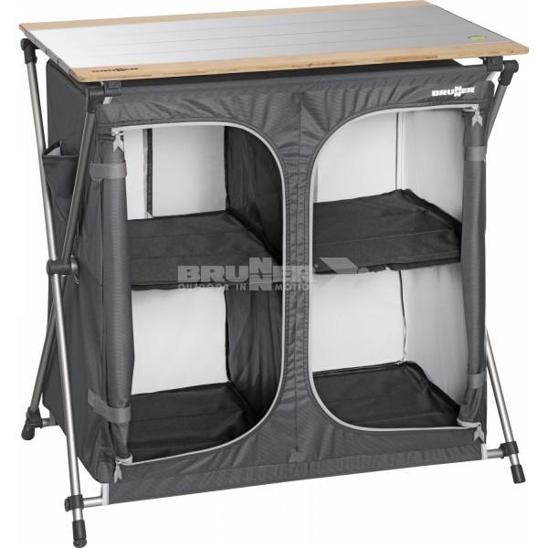 Aufbewahrungsmöbel Brunner Razor Ultraligth CT extrem kompaktes Packmaß