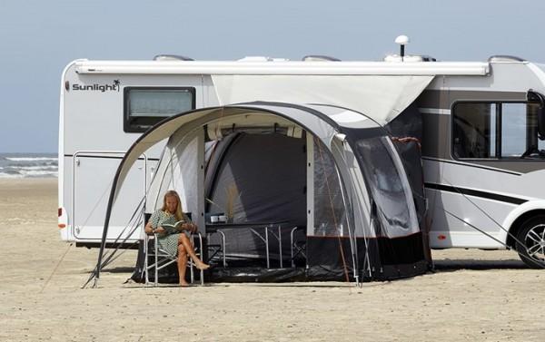 Vorzelt für Kastenwagen und Reisemobile Isabella Ventura Air Simplex Low, aufblasbar