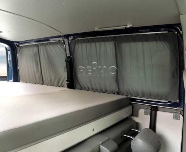 Vorhang-Set komplett für den VW T5 / T6 für alle 5 Fenster