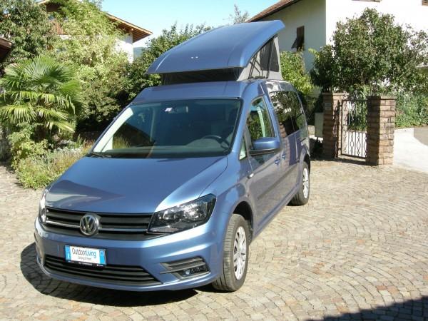 Campingbus Caddy Camp Maxi auf Basis VW Caddy Maxi