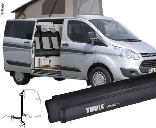 Tendalino Thule Omnistore 4900 per Ford Custom / Ford Tourneo nero