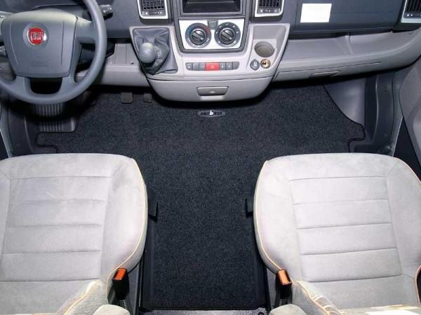 Fahrerhausteppich für VW T5 Basic Nadelvlies