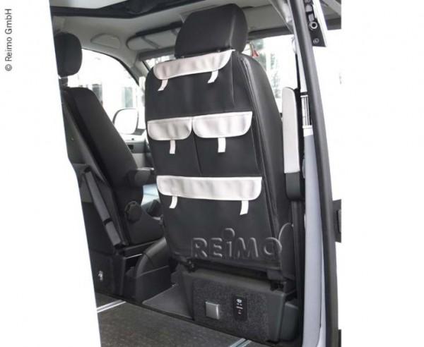 Organizer für Fahrer-und Beifahrersitz mit 4 Taschen, Kunstleder