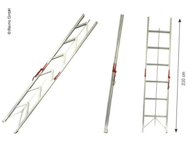 Scaletta molto compatta per salire nel tetto alzabile e tetto alto