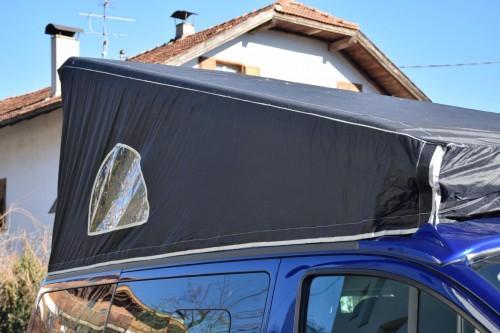 Wetterschutzhaube Mütze für Aufstell-Schlafdächer Ford Transit Custom Nugget