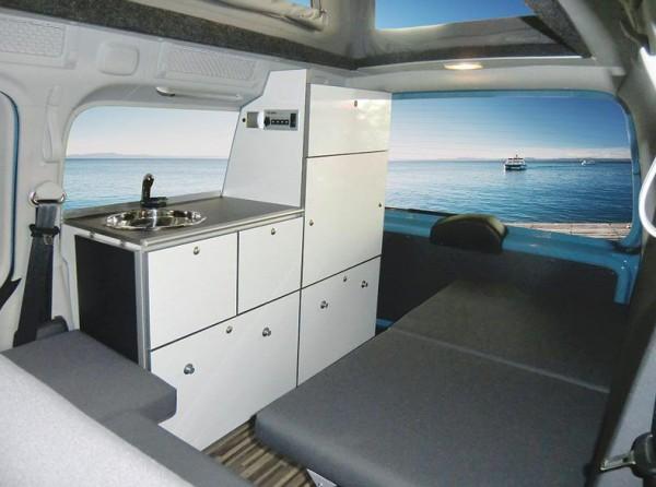 Ausbau Reimo Minicamper Camp Maxi für VW Caddy langer Radstand