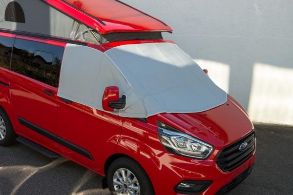 Oscurante termoisolante esterno cabina guida per Ford Transit, Tourneo Custom dal 2014