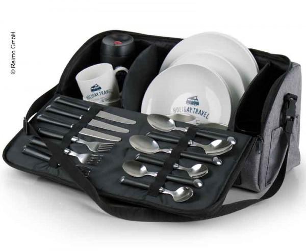 Borsa per stoviglie e da picnic, specifico per Volkswagen VW T5/T6/T6.1, California,Multivan,Caravelle e Kombi