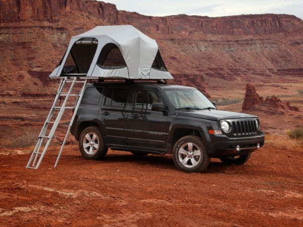 Tenda da tetto per auto Vision James Baroud