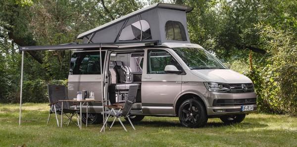Campingbus Reimo Carrara auf Basis des neuen Volkswagen VW T6.1