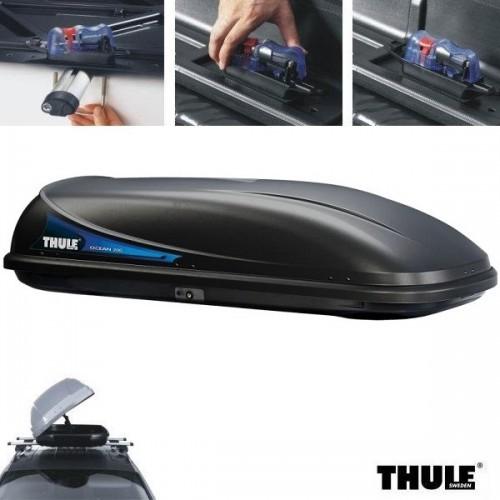 Noleggio box da tetto auto Thule Ocean 780 nero