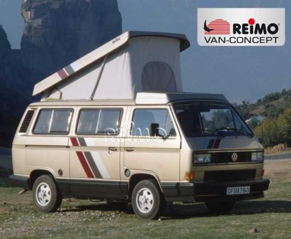 Aufstelldach, Schlafdach für VW T2 / T3 (bis 7/90) Superflach, weiß