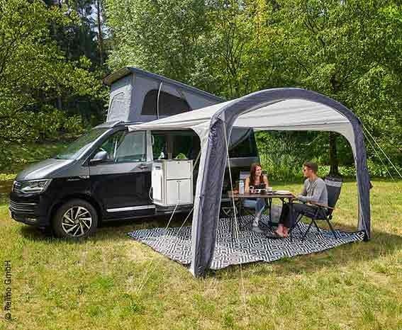 Sonnenvordach aufblasbar für Minibusse, VW Bus, Campingbus und Van