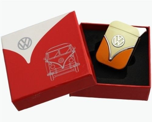 VW Collection accendino ricaricabile in metallo nel design del T1