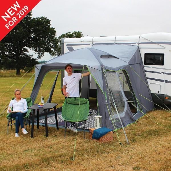 Tenda laterale per camper e furgone camperizzato gonfiabile Cayman Air
