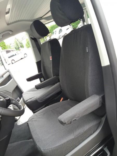 Sitzbezüge maßgefertigt für VW T5/ T6 - California Ocean/ Edition
