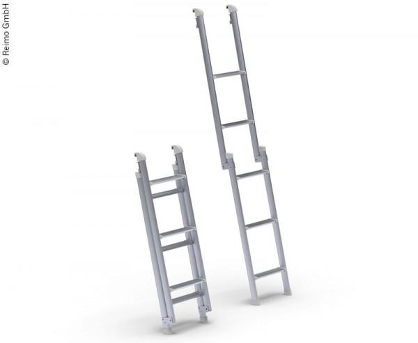 Kompakte faltbare Leiter für das Schlaf-Aufstelldach, Hochdach VW T6
