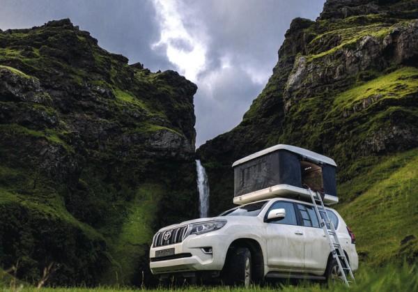 Tenda per tetto auto, per furgoni, van, fuoristrada e campervan medium